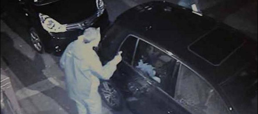 Vandalizza le auto in sosta:  identificato ed arrestato