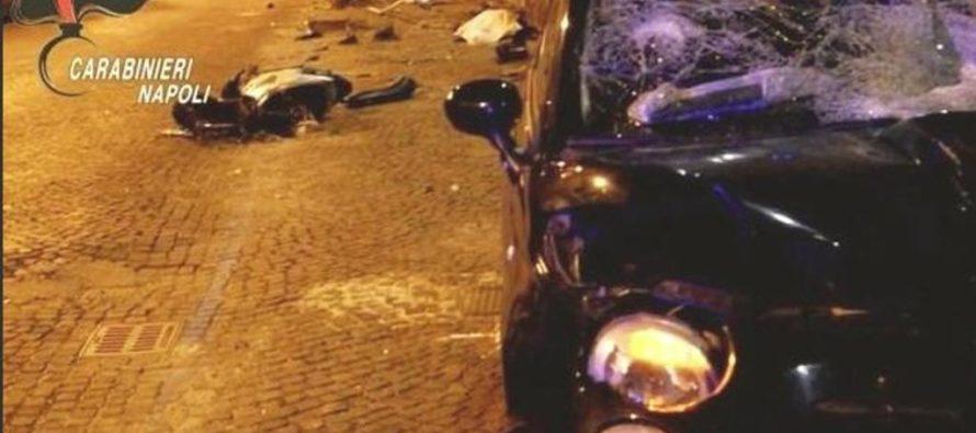 Napoli: gareggia di notte in auto ma investe ed uccide un uomo