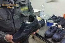 Sequestrate nel Napoletano 140mila paia di scarpe Hogan taroccate