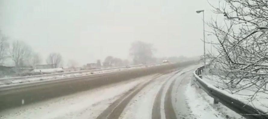 Nuova allerta meteo sulla Campania: temperature in picchiata, arriva la neve