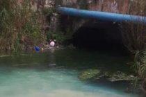 Scarichi sospetti alla sorgente del fiume Sarno: c'è la denuncia