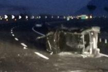 Colpo di sonno in autostrada, 4 feriti