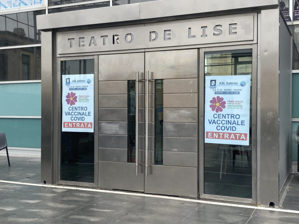 Hub Vaccinale a Sarno