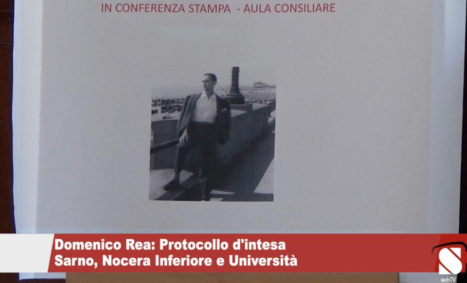 Domenico Rea: Protocollo d'intesa Sarno, Nocera Inferiore e Università