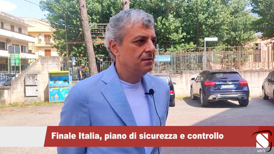 Sarno, finale Italia-Inghilterra, piano di sicurezza e controllo